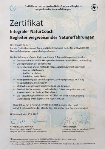 zertifikat-integraler-naturcoach-florian-koehler